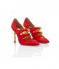 AIMEE – Dorsey Pump Red 3