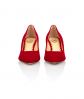 Jacqueline Pump Low Heel Red 4