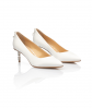 Jacqueline Bride Pump Low Heel 3