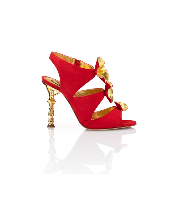 Bayley Sandal Red